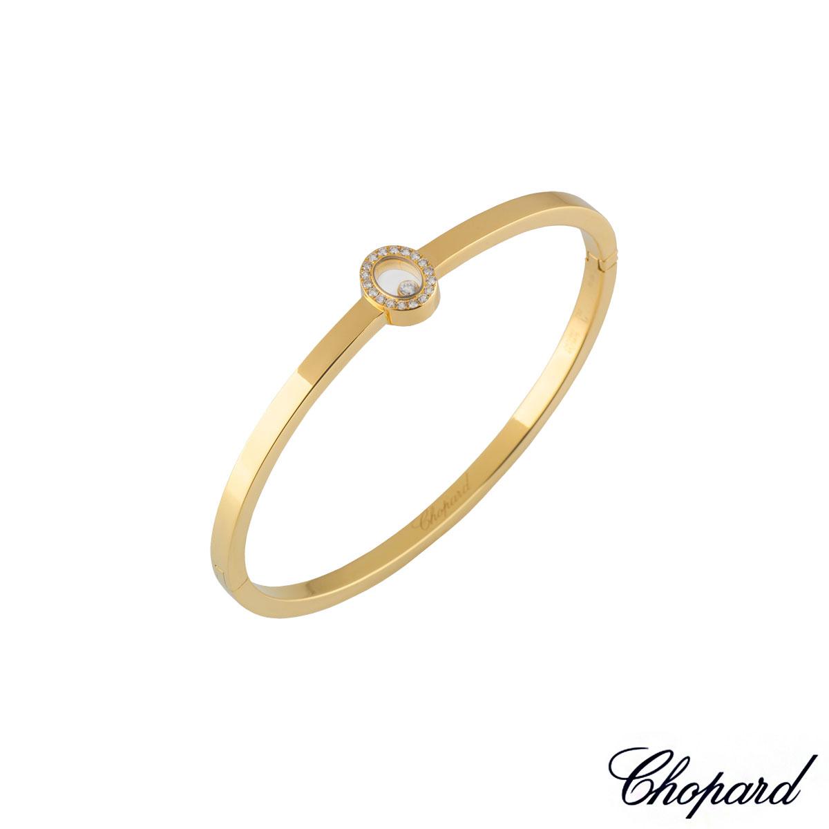 ChopardYellow Gold Happy Diamonds Bangle85/3875-20